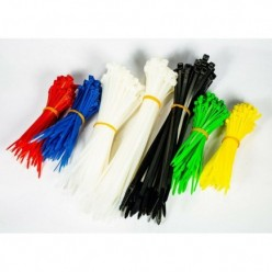 600 PCS ZIP CABLE TIE SET...
