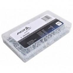 400pc Aluminium Blind Rivets Set 6 Sizes 3.2,...