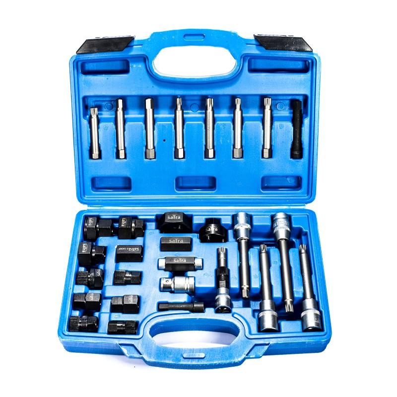 30pc Alternator Decoupler Pulley Removal /& Install Kit