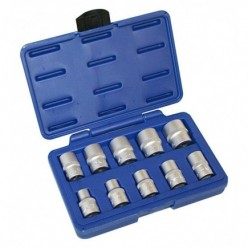 "10pc 1/2"" Inch Drive Socket..."